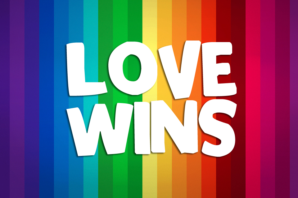 All of the Reasons I'm Laughing Today - Love Wins