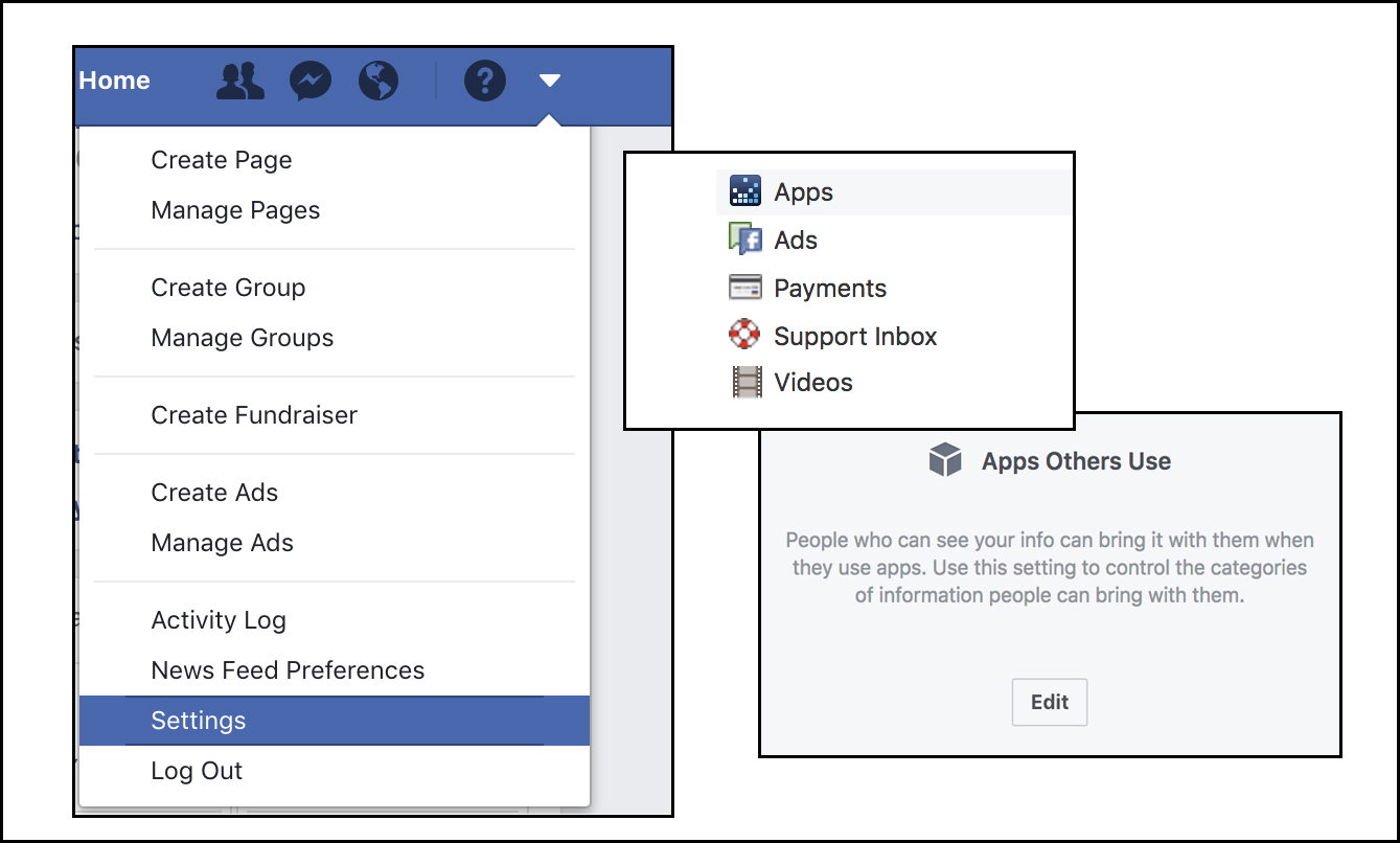 Using Facebook Privacy Settings