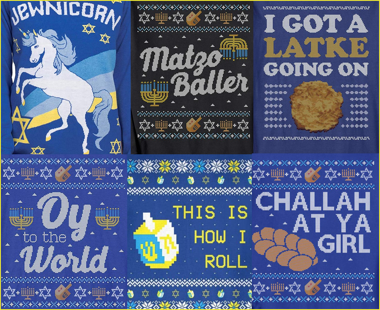 Friday Favorites: A Rumbly in my Tumbly / Ugly Hanukkah Sweaters